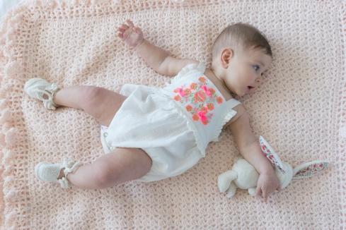 barboteuse louise misha mode bébé broderie pezenas joli jolie
